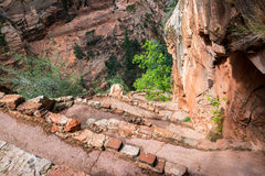 Path to Angel`s Landing Royalty Free Stock Photos