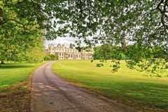 Path to Audley End House in Essex in England Royalty Free Stock Photos