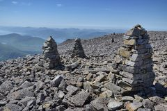 Path to the Ben Nevis summit Royalty Free Stock Image