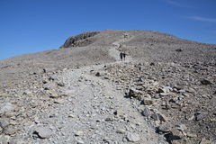 Path to the Ben Nevis summit Royalty Free Stock Images