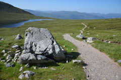 Path to the Ben Nevis summit Royalty Free Stock Photography
