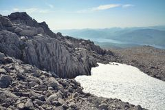 Path to the Ben Nevis summit Stock Photography