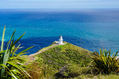 Path to Cape Reinga Lighthouse Royalty Free Stock Photos