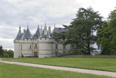 Path to the castle Chaumont-sur-Loire Royalty Free Stock Photos