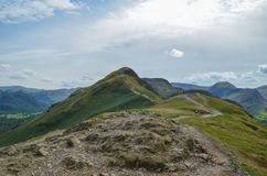 The Path to Cat Bells royalty free stock photos