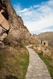 A path to cave city, Georgia. Royalty Free Stock Photos