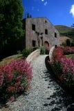 Path to Cellar Door, Winery,NZ Stock Photo