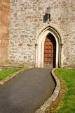 Path to church door Stock Photos