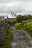 Path to church, Inisheer, Ireland Stock Image