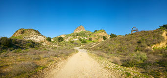 Path to Cliffs Royalty Free Stock Photography