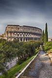 Path to the colosseum Royalty Free Stock Images