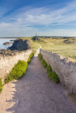 Path to cross Royalty Free Stock Images