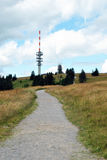 Path to the Feldberg mountain top - Black Forest Stock Image