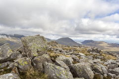 Path to Glyder Fach Royalty Free Stock Images