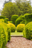 Path to Green. Shrubs Elvaston Castle Royalty Free Stock Photo