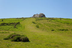Path to Haytor Dartmoor National Park Devon England UK Royalty Free Stock Photo