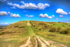 Path to Ivinghoe Beacon Chiltern Hills Buckinghamshire England UK English countryside near Dunstable Bedfordshire Royalty Free Stock Images