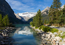 Path to Lake Louise Royalty Free Stock Photography