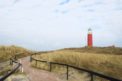 Path to lighthouses Royalty Free Stock Photography