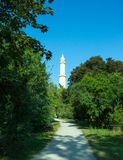Path to the minaret Stock Image