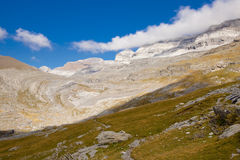 Path to Monte Perdido Royalty Free Stock Photography