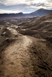 Path to Mount Bromo volcano, Surabuya, Indonesia Stock Photography
