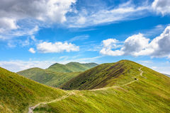 Path to the mountain top Royalty Free Stock Image