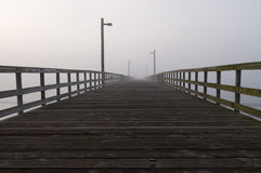 Path to nowhere royalty free stock image