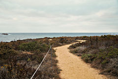 Path to the ocean Royalty Free Stock Images
