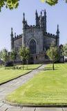 Path to Oldham Parish Church in Lancashire Royalty Free Stock Photo