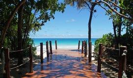 Path to paradise Stock Photos