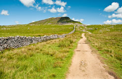 Path to Pen-y-Ghent Stock Photography