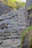 Path to Preikestolen 016 Royalty Free Stock Photos