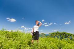 On the path to prosperity Stock Photography