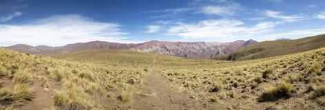 Path to Quebrada de Humahuaca, Northern Argentina Royalty Free Stock Photography