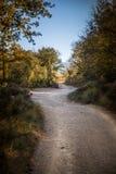 Path to Salt de Sallent. Photograph of a path to Salt de Sallent waterfall near Rupit, Catalonia, Spain Stock Image