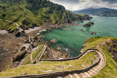 Path to San Juan de Gaztelugatxe Royalty Free Stock Photography