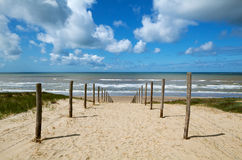 Path to the sea Stock Photography