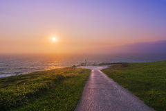 Path to the sea Stock Image
