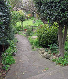 Path to secret garden Royalty Free Stock Image