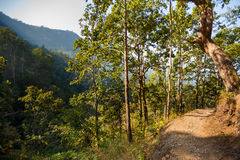 Path to Siddha Cave Royalty Free Stock Photos
