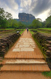 Path to Sigiriya Castle Royalty Free Stock Photography