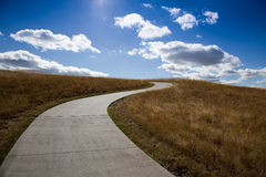 Path to the sky Royalty Free Stock Images