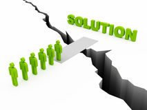 Path to solution Stock Photo