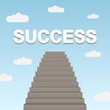 Path to success Royalty Free Stock Photos