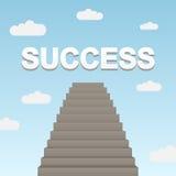 Path to success Royalty Free Stock Photos