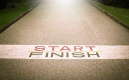 Path to Success and Future , Path to Success and the Future Road. To Success That might have to compete Break through obstacles Royalty Free Stock Photography