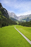 Path to the Swiss Alps Stock Images