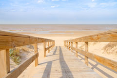 Free Path To The Beach Stock Image - 10669341