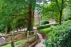 Free Path To The Mill Royalty Free Stock Photo - 127764235